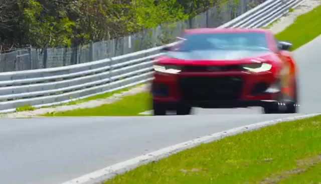 Watch and share 2018 Camaro ZL1 1LE Conquers Nürburgring | Chevrolet GIFs on Gfycat