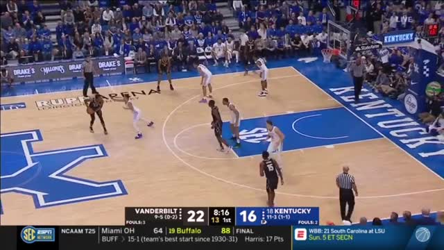 Watch Vandy UK full game GIF by @gyrateplus on Gfycat. Discover more People & Blogs, W, basketball GIFs on Gfycat