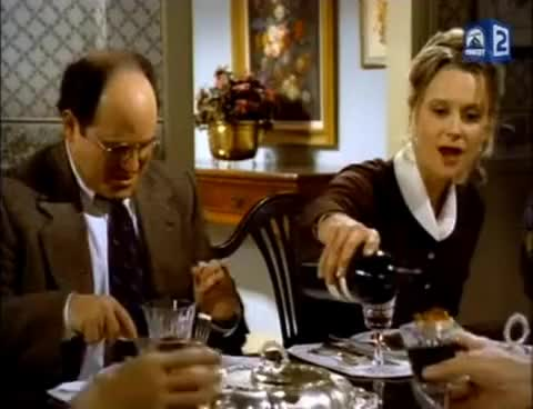 Watch Seinfeld - Frank and Estelle Costanza at dinner party GIF on Gfycat. Discover more related GIFs on Gfycat
