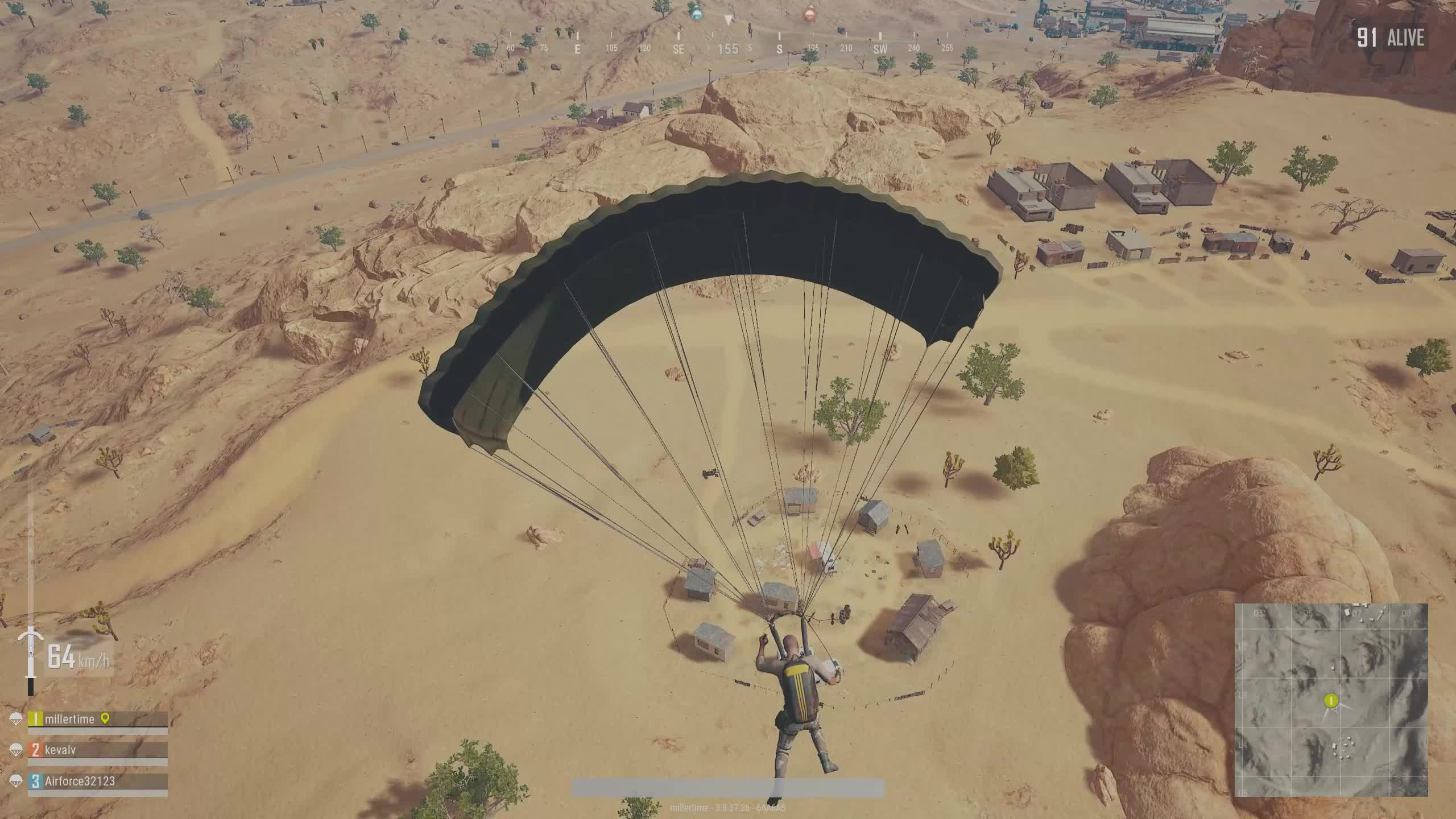 PUBG, glitch, kite, parachute glitch, Fight for your kite to party GIFs