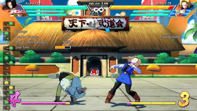 Watch Testing synergy - a combo GIF by Tsukinokami (@tsukinokami) on Gfycat. Discover more A17, andriod 21, android 17, combo, dbfz, dragon ball fighterz GIFs on Gfycat