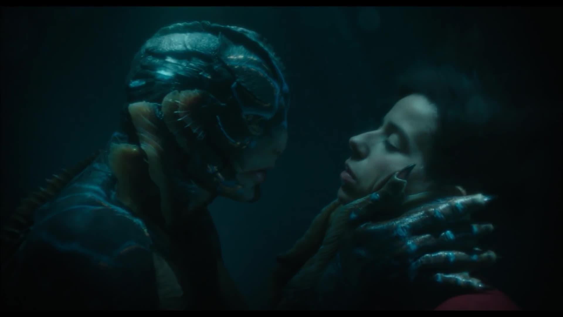 The Shape Of Water Kiss Scene Gif By Norman Freak89 Gfycat