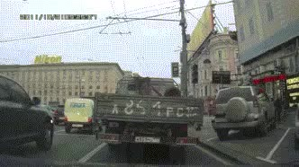 Watch and share Russia Dashcam GIFs on Gfycat
