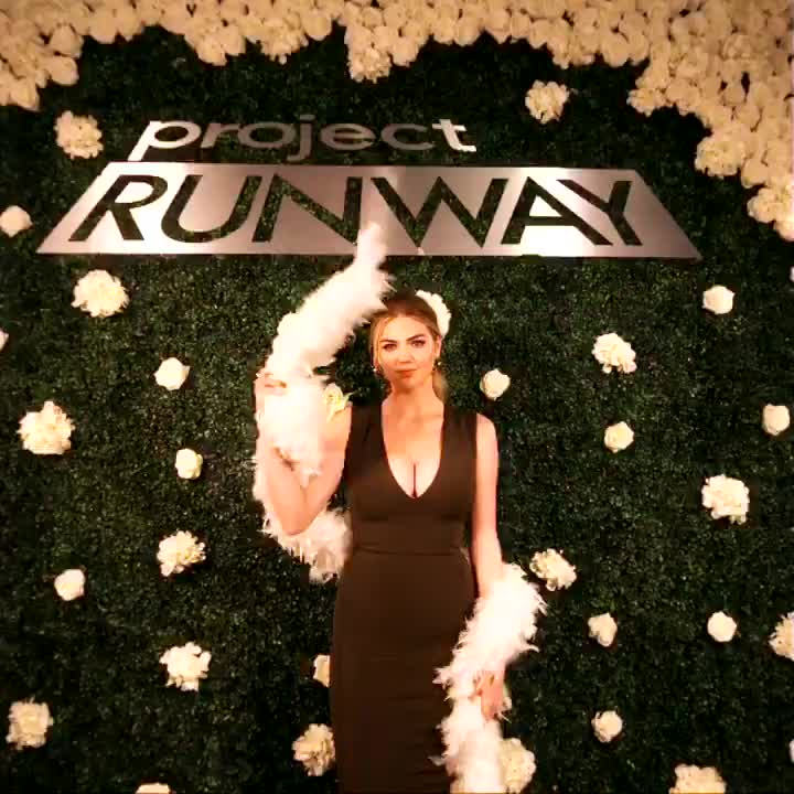 kate upton, model, runway, Project Runway promo GIFs