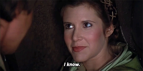 i know, i know things, know, i know han solo GIFs
