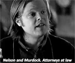 Watch and share Elden Henson GIFs and Foggy Nelson GIFs on Gfycat