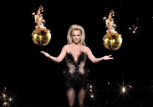Watch and share Britney Spears, Dancing, Fire GIFs on Gfycat