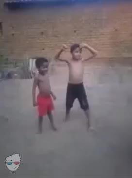 Watch Niños bailando con un perro GIF on Gfycat. Discover more related GIFs on Gfycat