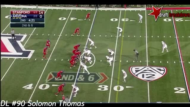 Watch Solomon Thomas Vs Arizona(2016) GIF on Gfycat. Discover more related GIFs on Gfycat