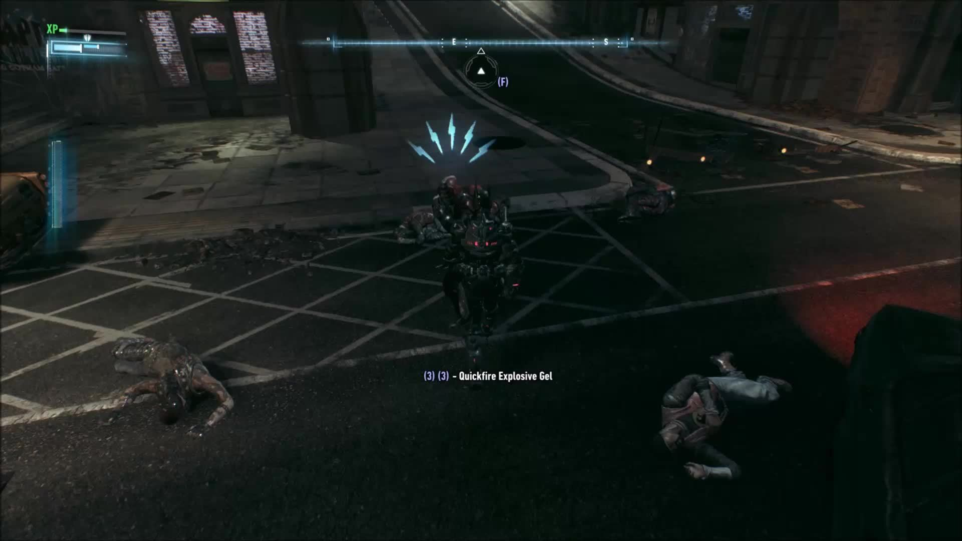 batman, batmanarkham, You ever had Batman hit you so hard in the nuts that it knocked you unconscious? (reddit) GIFs