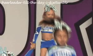Watch and share Baby Cheerleader GIFs on Gfycat