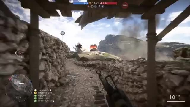 Watch BF1(PS4): EMBRACE THE CHOS GIF by eddie1pop (@eddie1pop) on Gfycat. Discover more bf1, bf1 kill feeds, bf1 kills of the week GIFs on Gfycat