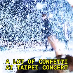 Watch Kid Eric and Kim Dongwan excited by confetti in Taipei l vid GIF on Gfycat. Discover more eric mun, in taipei, kim dongwan, ricwan, shinhwa GIFs on Gfycat