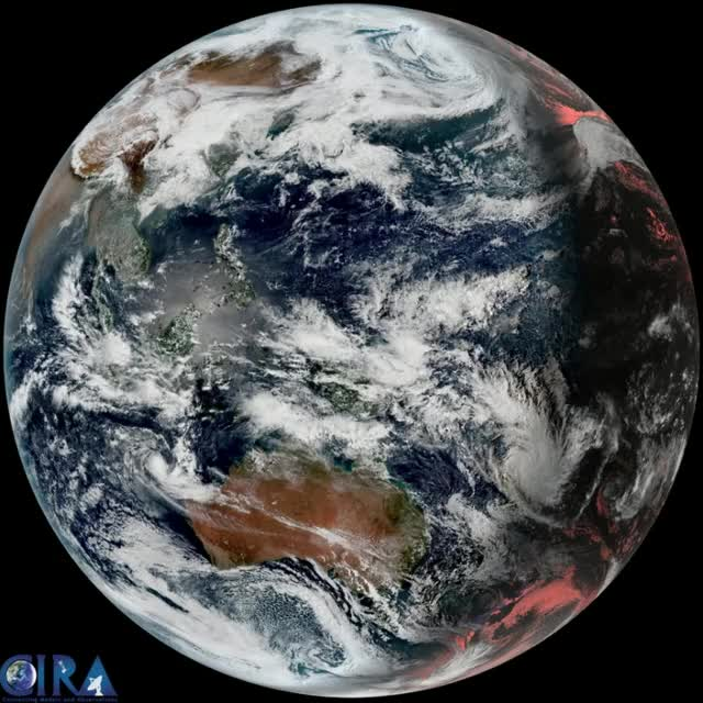 "Watch Tropical Cyclone ""Cook"" - April 8 - 9, 2017 - Genesis GIF by The Watchers (@thewatchers) on Gfycat. Discover more related GIFs on Gfycat"