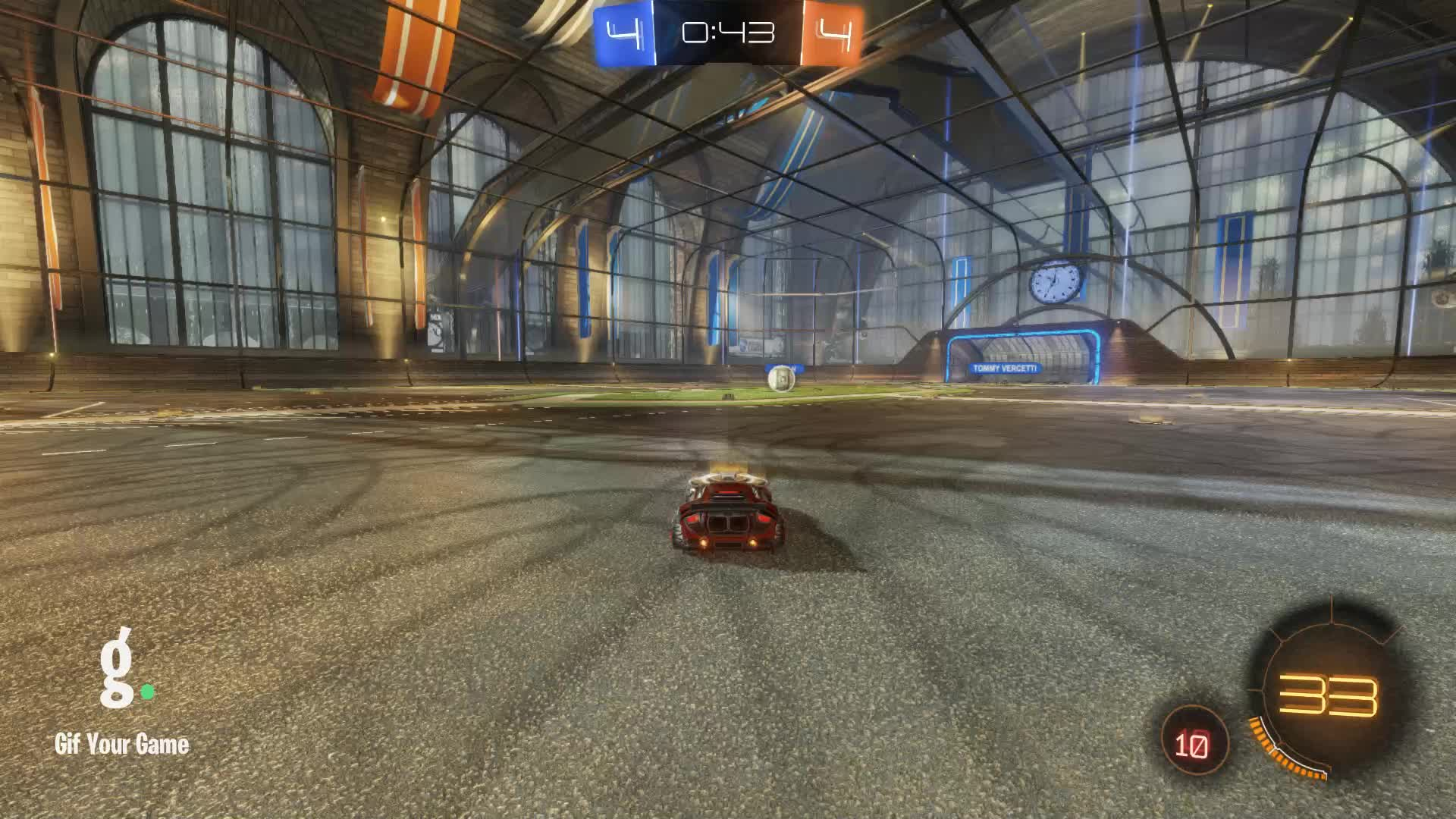Assist, Duck Dodgers, Gif Your Game, GifYourGame, Rocket League, RocketLeague, Assist 5: Duck Dodgers GIFs