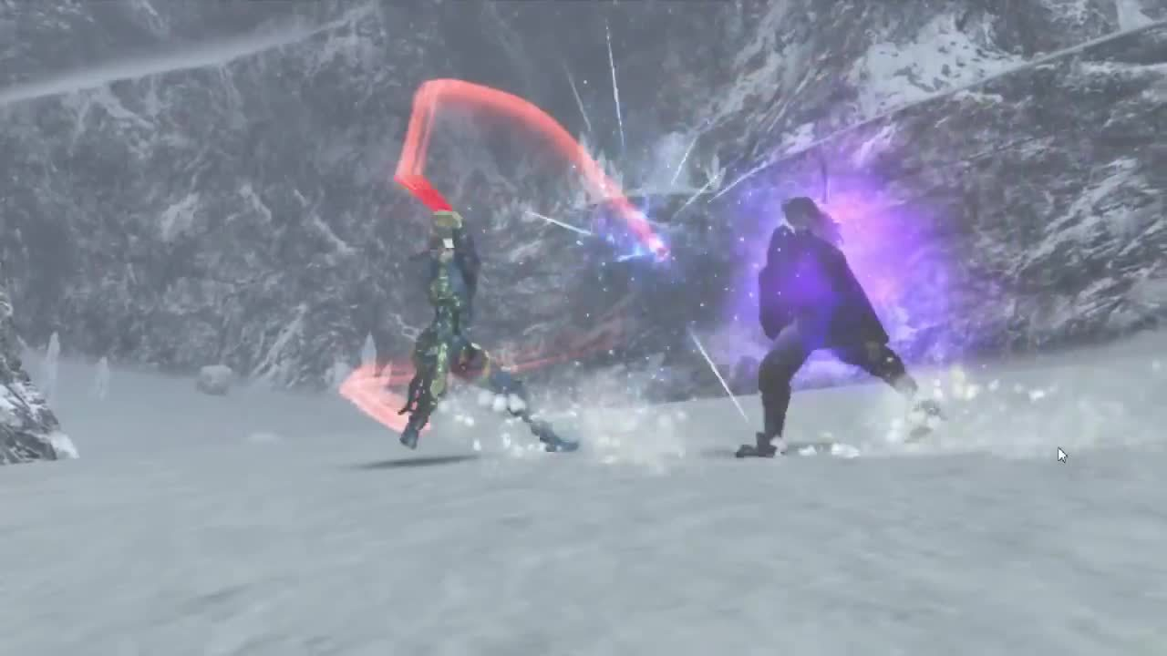 Xenoblade Chronicles - Moving Camera During Cutscenes 5 GIFs