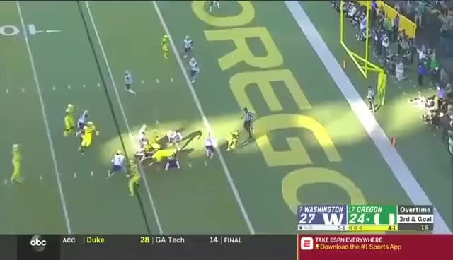 Watch and share Washington GIFs and Touchdown GIFs on Gfycat