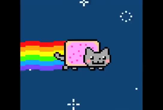 Watch and share Nyan GIFs and Cat GIFs on Gfycat