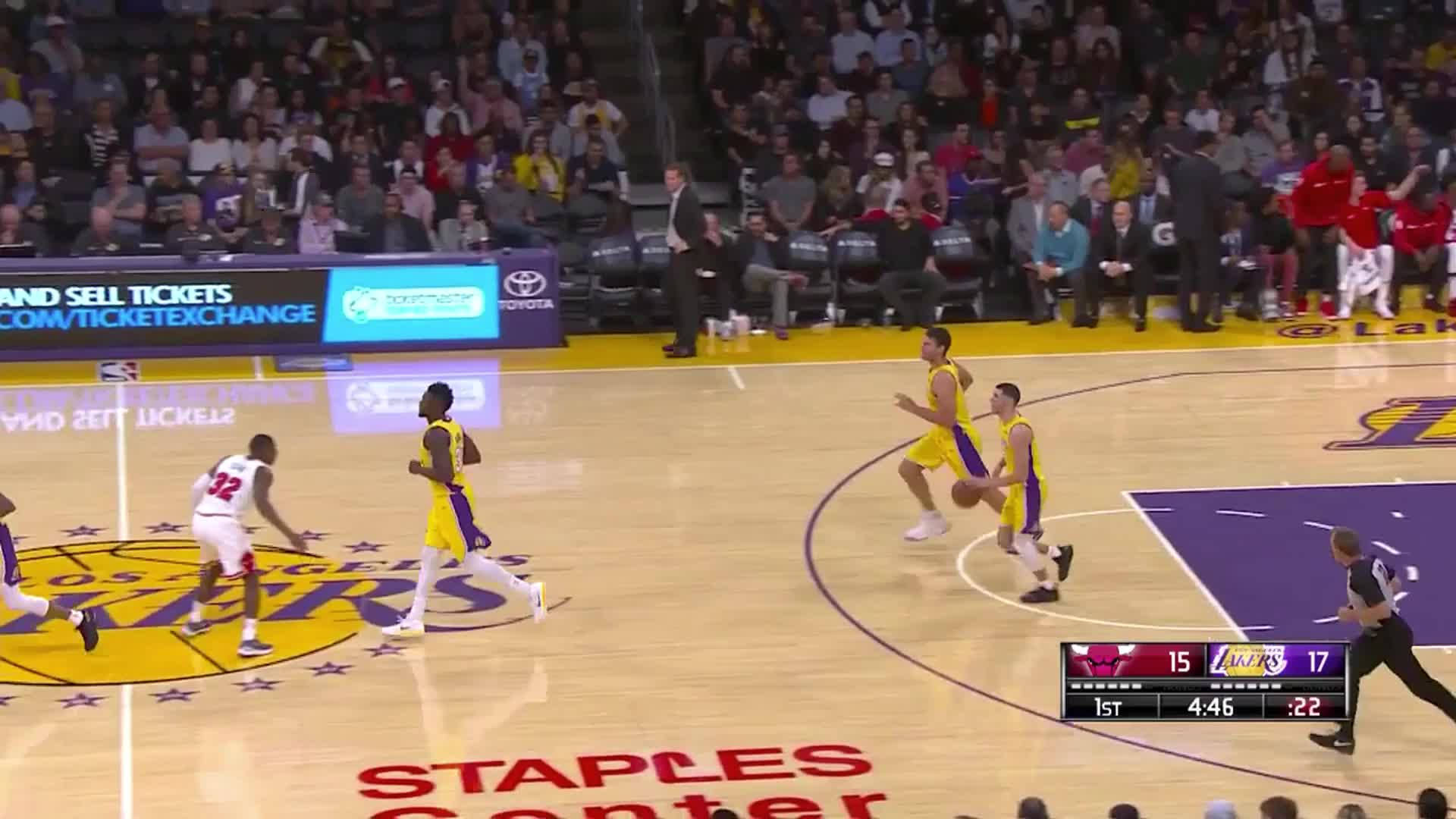 Lakers Alley Oops.mov GIFs