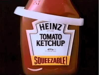 Watch and share Heinz Ketchup And Onions - 1987 animated stickers on Gfycat