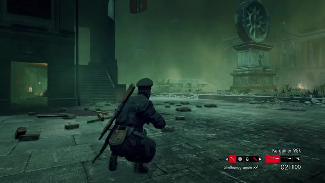 Watch Explosion GIF by alexander452 on Gfycat. Discover more Double kill, Explosion, Zombie Army Trilogy, ww2, zombie GIFs on Gfycat