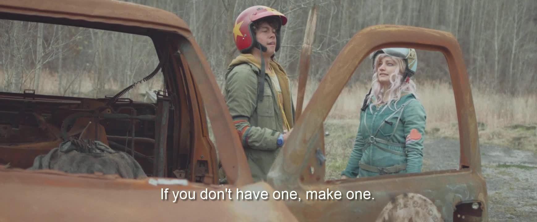 NetflixBestOf, Turbo Kid Gnomestick, Rule #6 of the wasteland: always have a weapon (reddit) GIFs