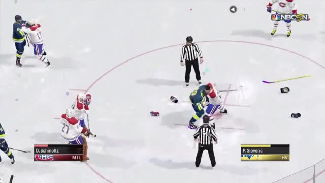 Watch A normal hockey fight GIF on Gfycat. Discover more PlayStation 4, Sony Computer Entertainment, ea_nhl GIFs on Gfycat