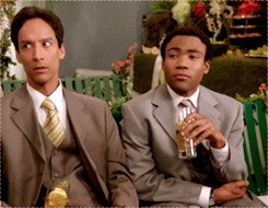 askreddit, community, donald glover, finally, troy and abed pointing GIFs