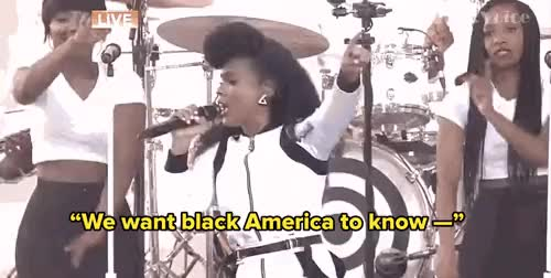 Watch and share Black Lives Matter GIFs and Janelle Monae GIFs on Gfycat