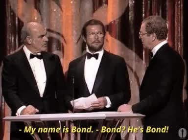 Watch and share Roger Moore GIFs on Gfycat
