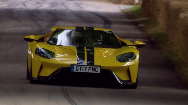 Watch Andy Priaulx wows the crowds with the Ford GT at Goodwood GIF on Gfycat. Discover more ford, ford gt, supercar GIFs on Gfycat