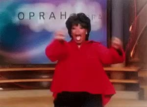 Watch and share Oprah Excited GIFs on Gfycat
