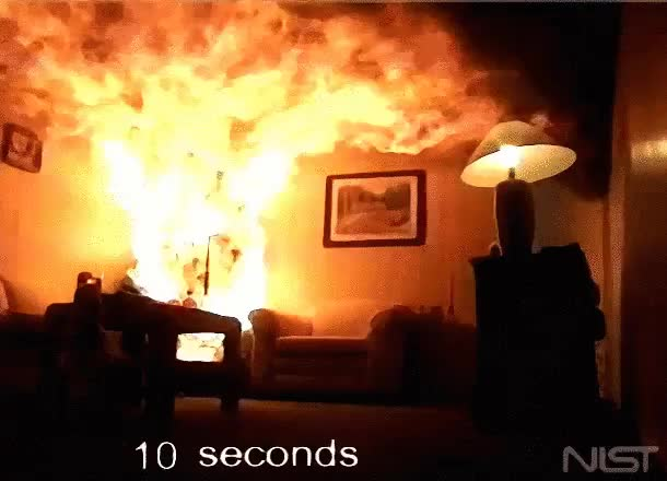 Watch and share A Christmas Tree On Fire [GIF] : Woahdude GIFs on Gfycat
