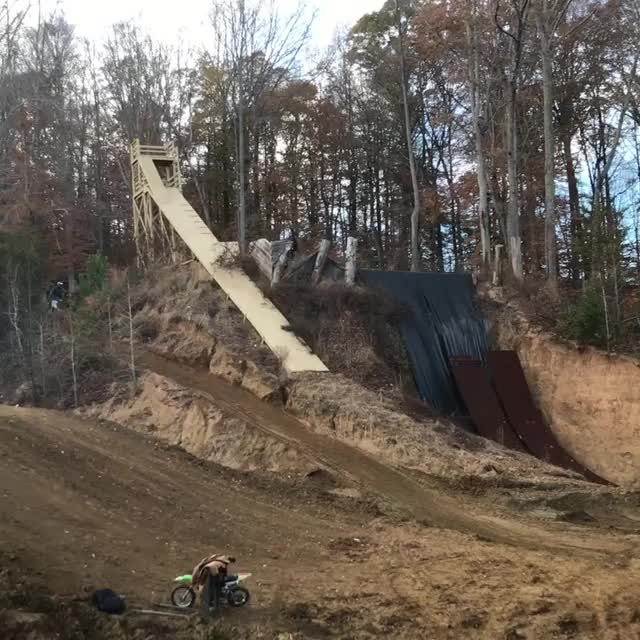 Watch and share Insane Motorbike Stunt By Travis Pastrana GIFs by mossberg91 on Gfycat
