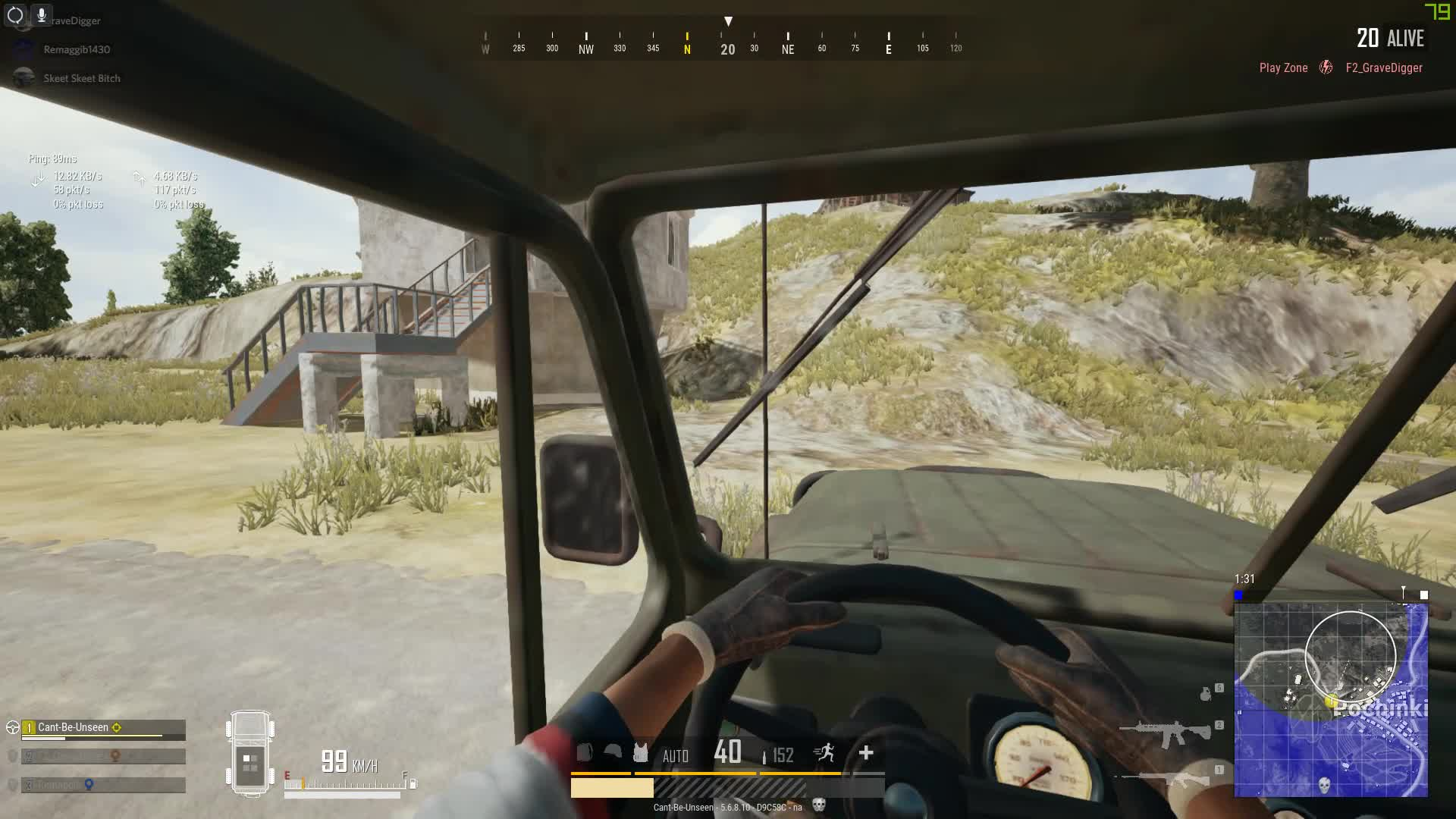 pubattlegrounds, pubg, When the UAZ doesn't like the way you drive, Kicks you out, and kills you ... GIFs