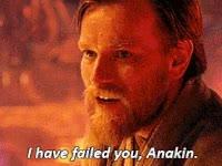 Watch and share Star Wars, Obi Wan, Kenobi, Ewan Macgregor, Failed You GIFs on Gfycat