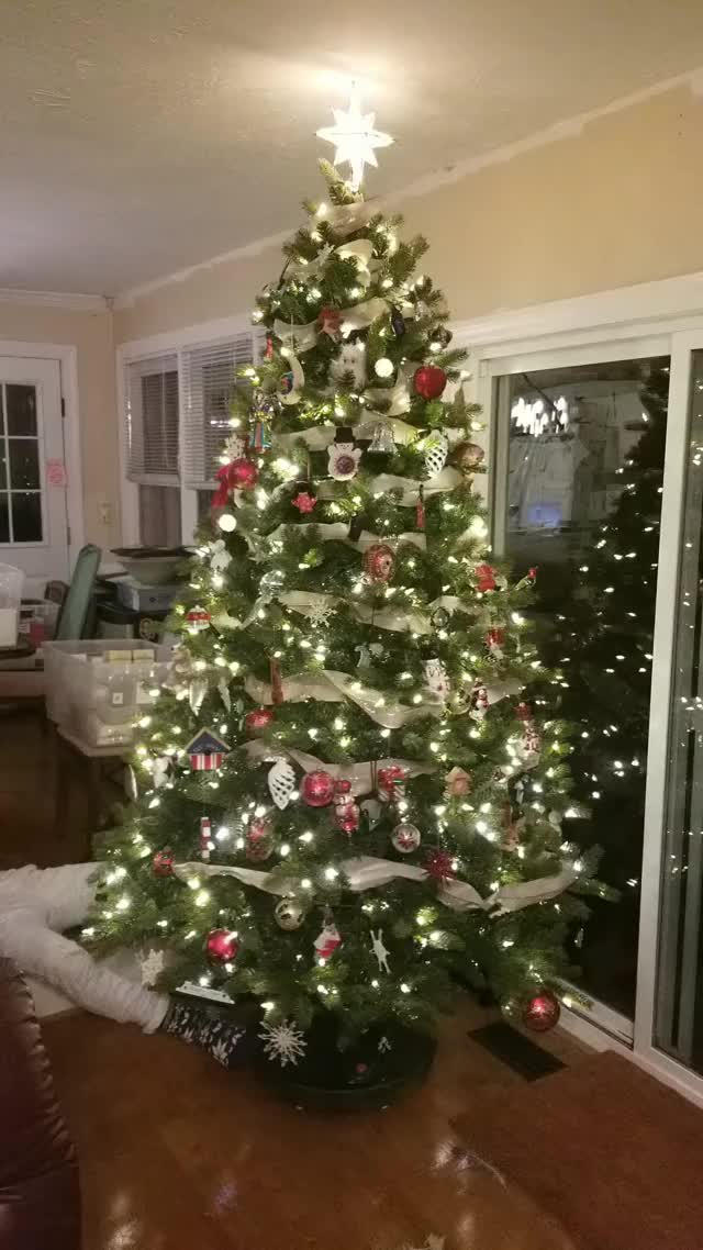 Watch and share Christmas Tree GIFs by bornity on Gfycat