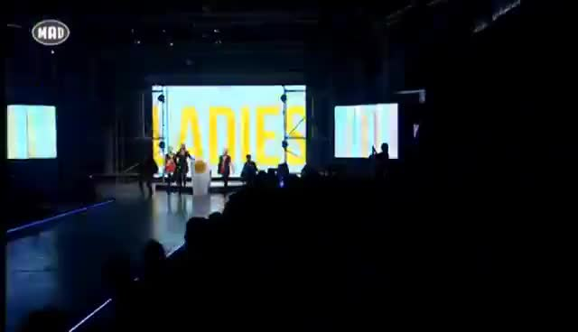 Watch Ελένη Φουρέιρα - Ladies (Stand Up) MadWalk 2015 by Aperol Spritz GIF on Gfycat. Discover more related GIFs on Gfycat