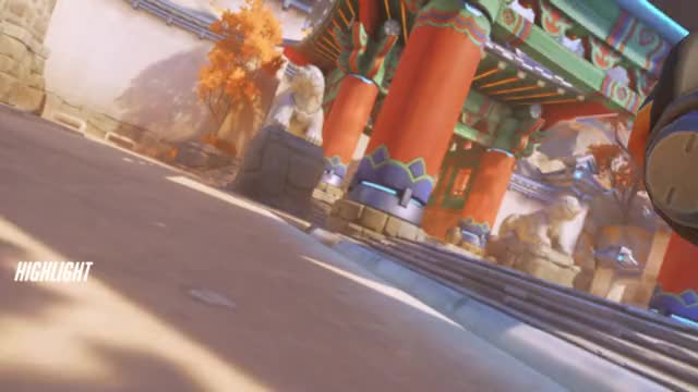 Watch and share Highlight GIFs and Overwatch GIFs by hollylouwho on Gfycat