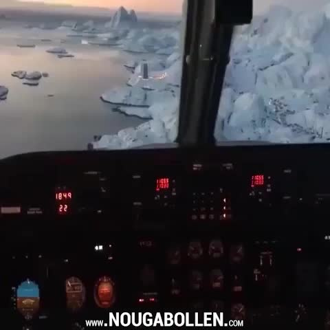 Watch and share Landing In Greenland GIFs by TMS on Gfycat