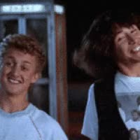 Watch and share Bill & Ted GIFs on Gfycat