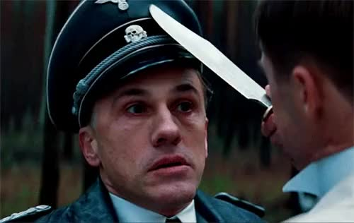 Watch this christoph waltz GIF on Gfycat. Discover more christoph waltz, inglourious basterds GIFs on Gfycat