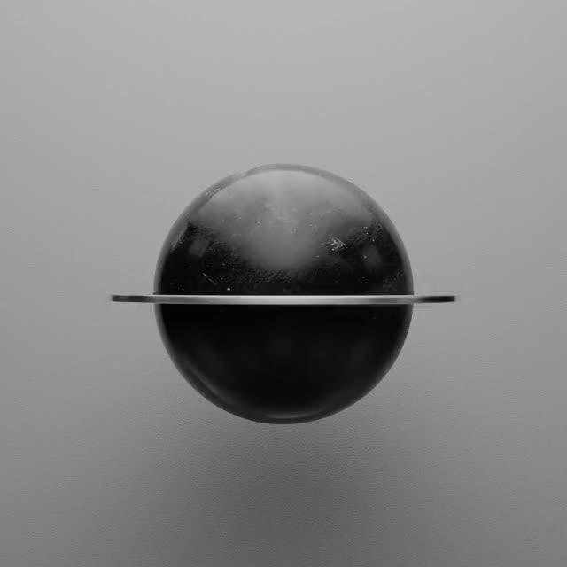Watch black sphere GIF by arc4g (@arc999) on Gfycat. Discover more 3d, arc4g, b3d, black sphere, dark, loop GIFs on Gfycat