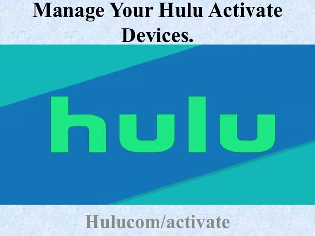 Watch and share Manage Your Hulu Activate Devices Ppt GIFs by Hulu Activate on Gfycat