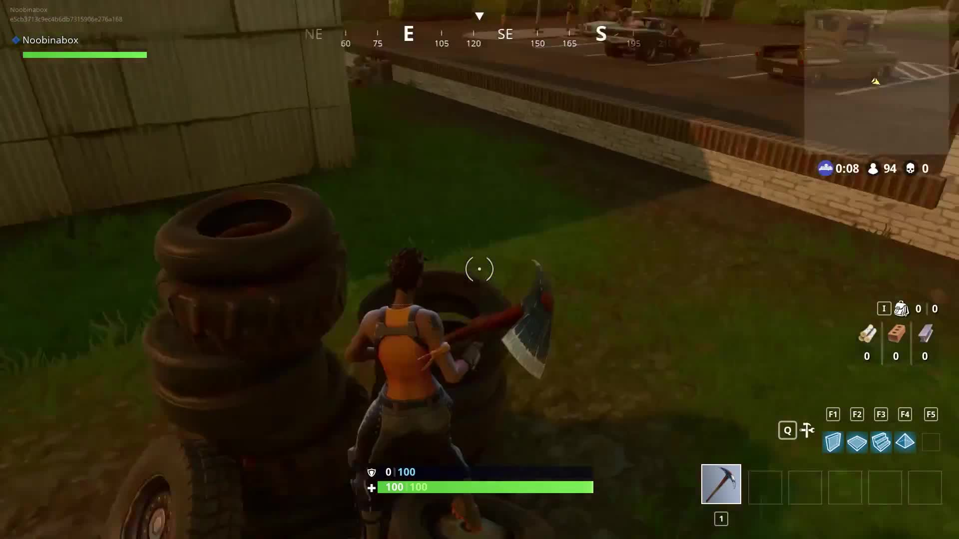 Battle Royale, Fortnite, Fortnite Battle Royale, FortniteBR, Noobinabox, Extra Bouncy Tires + Rubber Banding = This? GIFs