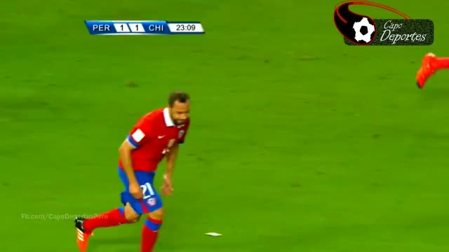 Watch and share Expulsion De Christian Cueva - Peru Vs Chile  - Clasificatorias Rusia 2018| HD | - 13/10/2015 GIFs on Gfycat