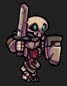 Watch 2D Dungeon GIF on Gfycat. Discover more 2DDArt, Animations, Character, Game, Skeleton, Sprite GIFs on Gfycat