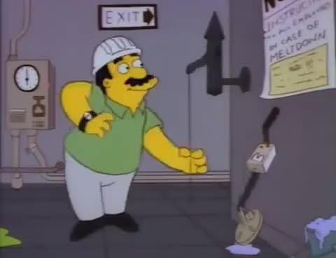 Watch and share The Simpsons- Homer- Flintstones Imitation GIFs on Gfycat
