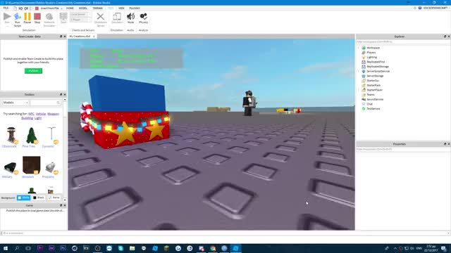 Watch and share Christmas Lights GIFs by voiceplaysroblox on Gfycat