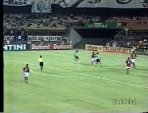 Watch Brasileiro 1997 Semifinal - Vasco 4x1 Flamengo - Show do Edmundo - Narração Luciano do Valle GIF on Gfycat. Discover more related GIFs on Gfycat